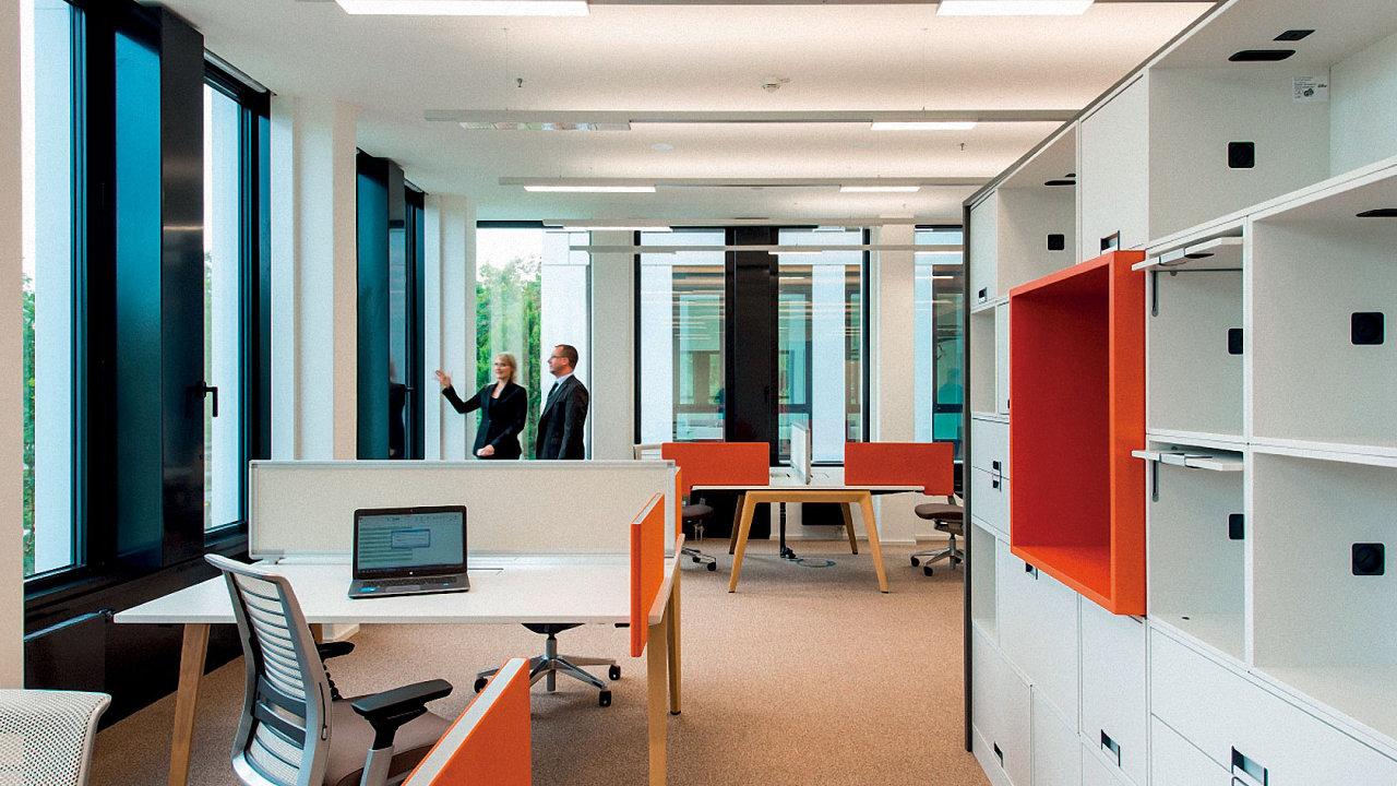 Osvětlení v kancelářích (ilustrační foto)