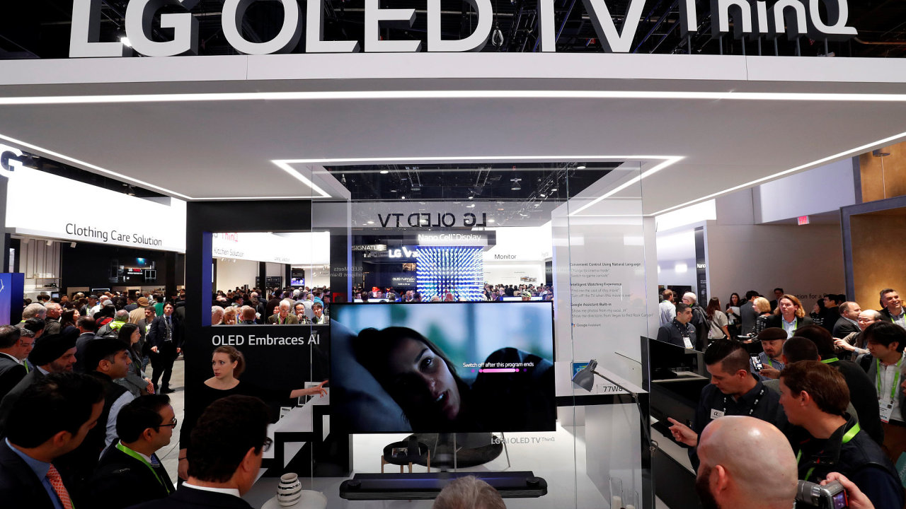 Nový display OLED ThinQ televisions od LG.