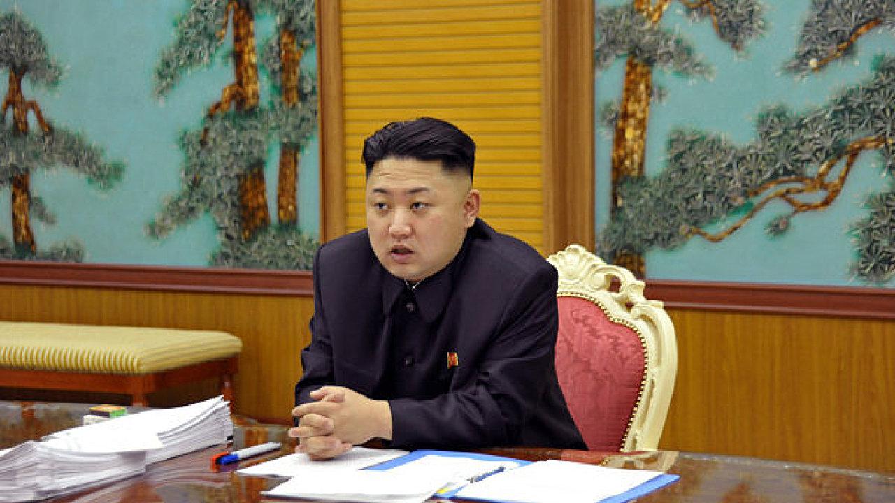 Kim Čong-un, severokorejský lídr.