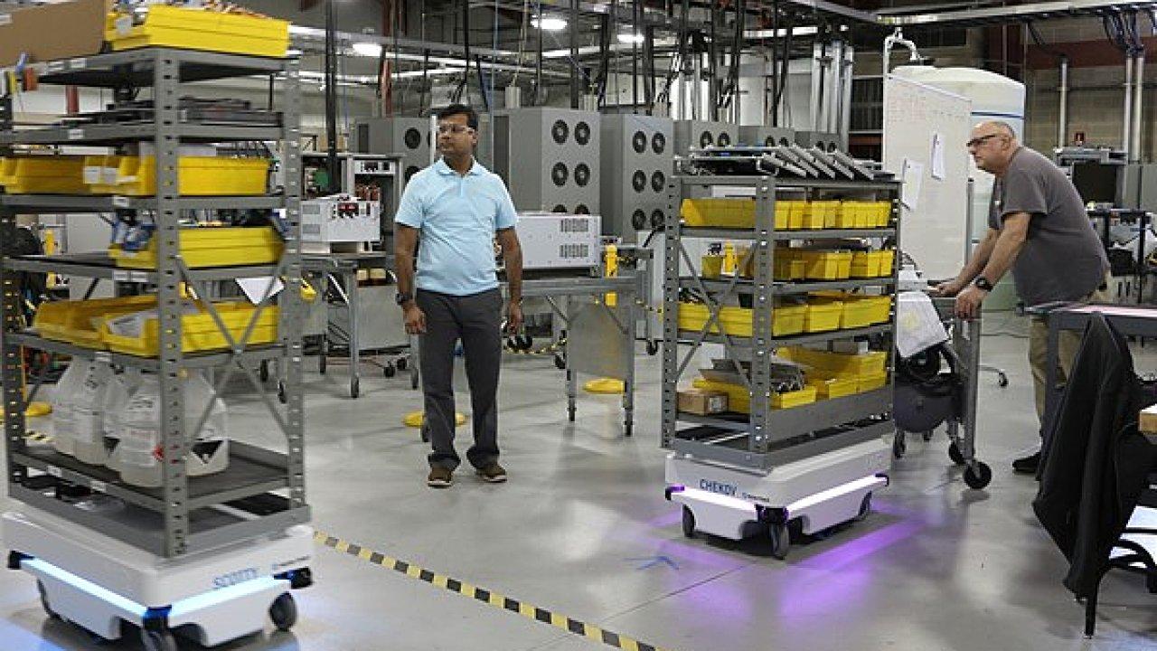 Společnost Amtech spouští půjčovnu robotů (ilustrační foto).