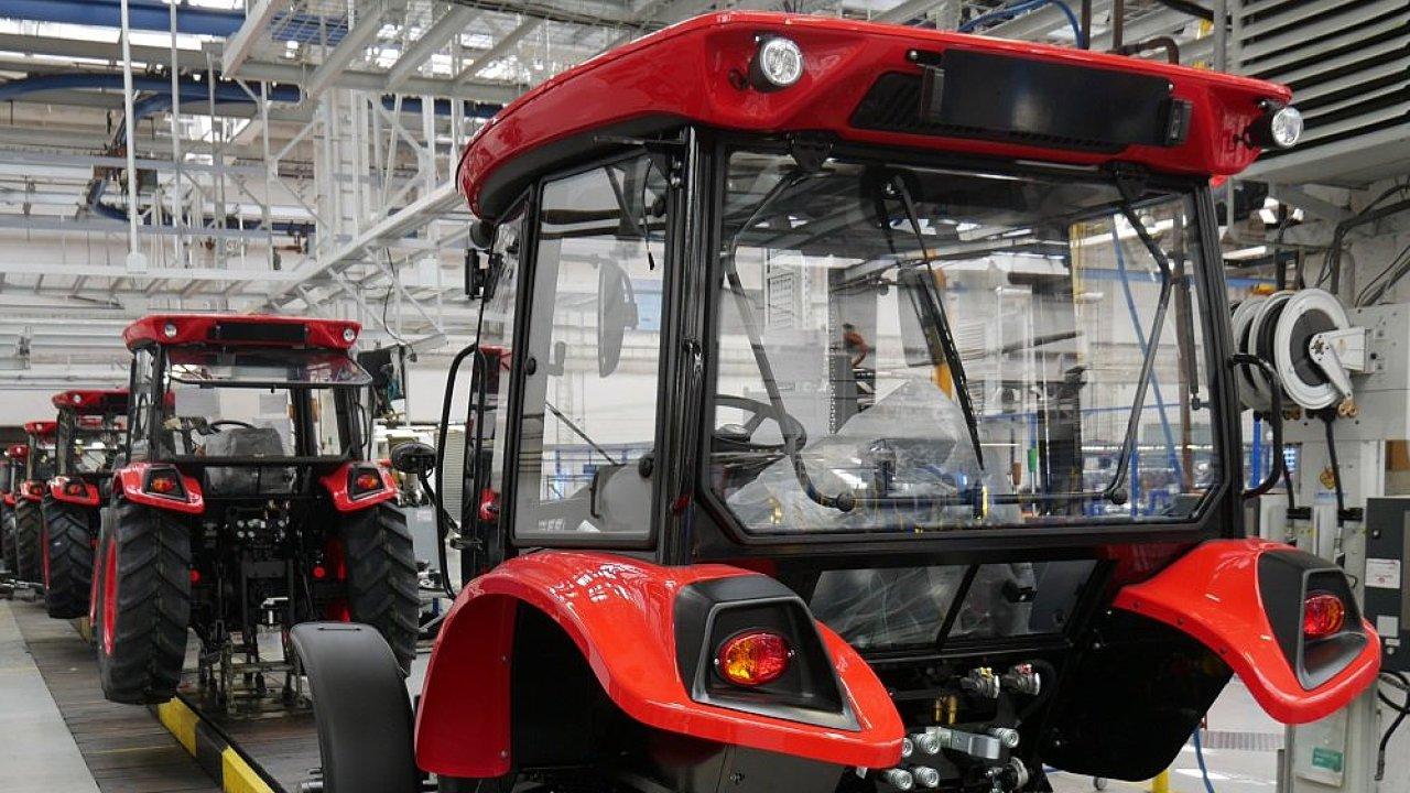 Ze všech prodaných traktorů značky Zetor jich 79 procent putovalo do zahraničí.