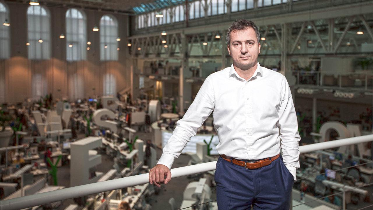 Roman Latuske (44), předseda představenstva a generální ředitel, Economia