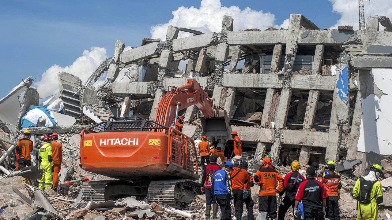Zemětřesení, tsunami, Indonésie