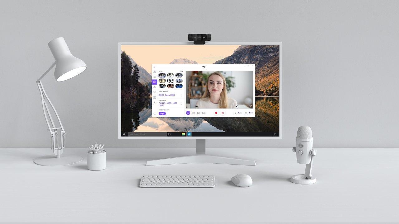 Aplikace Logitech Capture umožňuje neuvěřitelně snadnou tvorbu profesionálně vyhlížejících videí