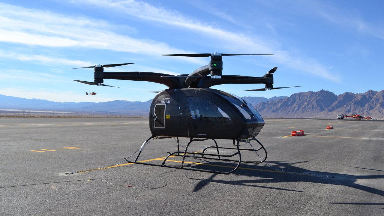 Surefly, dopravní dron od Workhorse