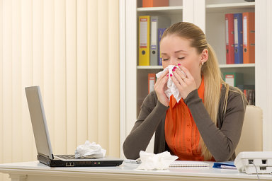 Po České republice se šíří chřipka (ilustrační foto).