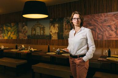 Od banky kvlastnímu byznysu. Jarmila Kowolowská roky pracovala vkorporaci, dnes řídí firmu Grason. Aplikaci využívá itřeba pražský podnik Pizza Nuova (na snímku).