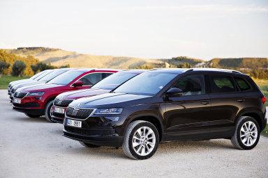 SUV Škoda Karoq bylo jedním z nejprodávanějších osobních automobilů prvního čtvrtletí letošního roku.