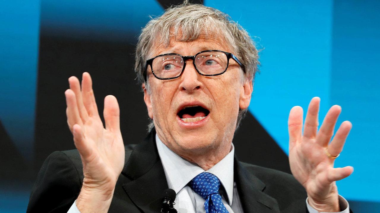 I takoví miliardáři jako zakladatel Microsoftu Bill Gates prosazují změnu daňového systému tak, aby to pocítili boháči.