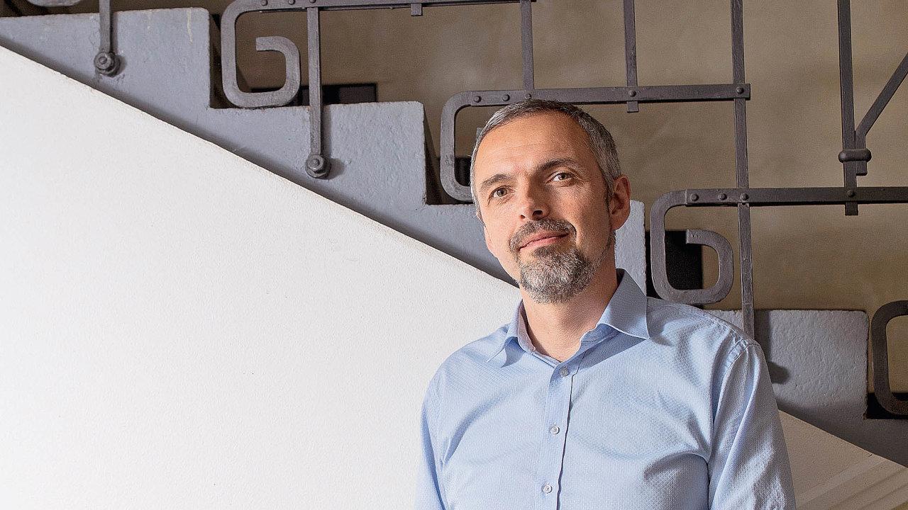 Majitel architektonického ateliéru Masák&Partner Jakub Masák