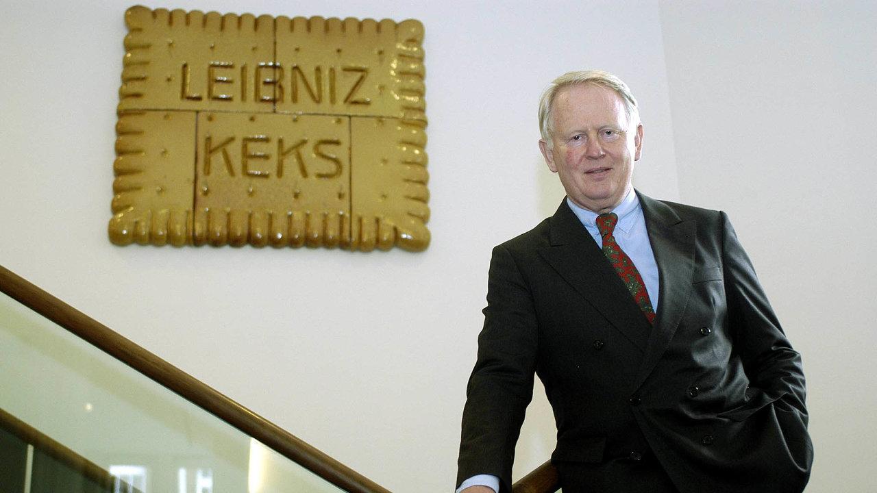 Jednou z německých podnikatelských rodin, které se snaží rozkrýt svou temnou historii, jsou Bahlsenovi, výrobci sušenek (na snímku Werner Michael Bahlsen, předseda představenstva společnosti).