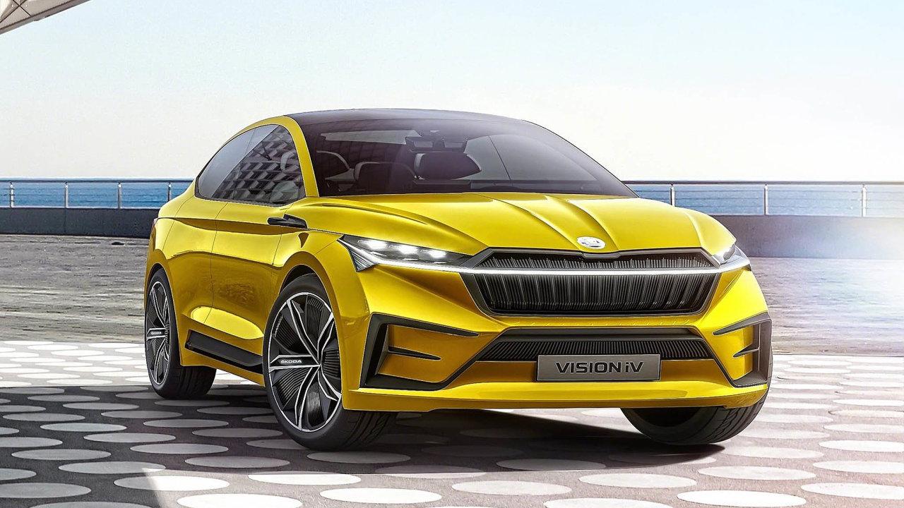 Škoda Vision iV. Elektrická Škoda bude vycházet zkonceptu Vision iV abude jezdit jako SUV aSUV-kupé. Její baterie by měla mít kapacitu 82 kWh, což videálním stavu bude znamenat dojezd až 500 kilometrů. Auto ...