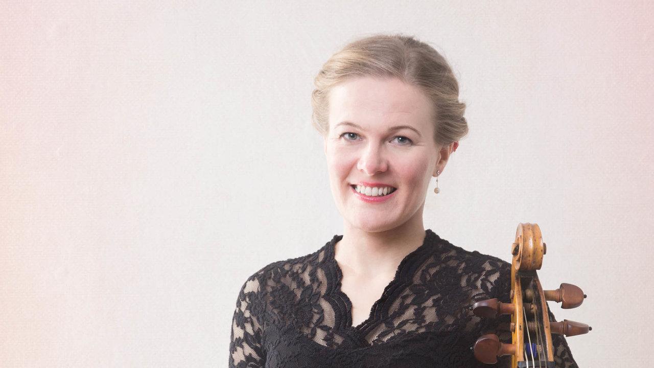 Violoncellistka Helena Matyášová