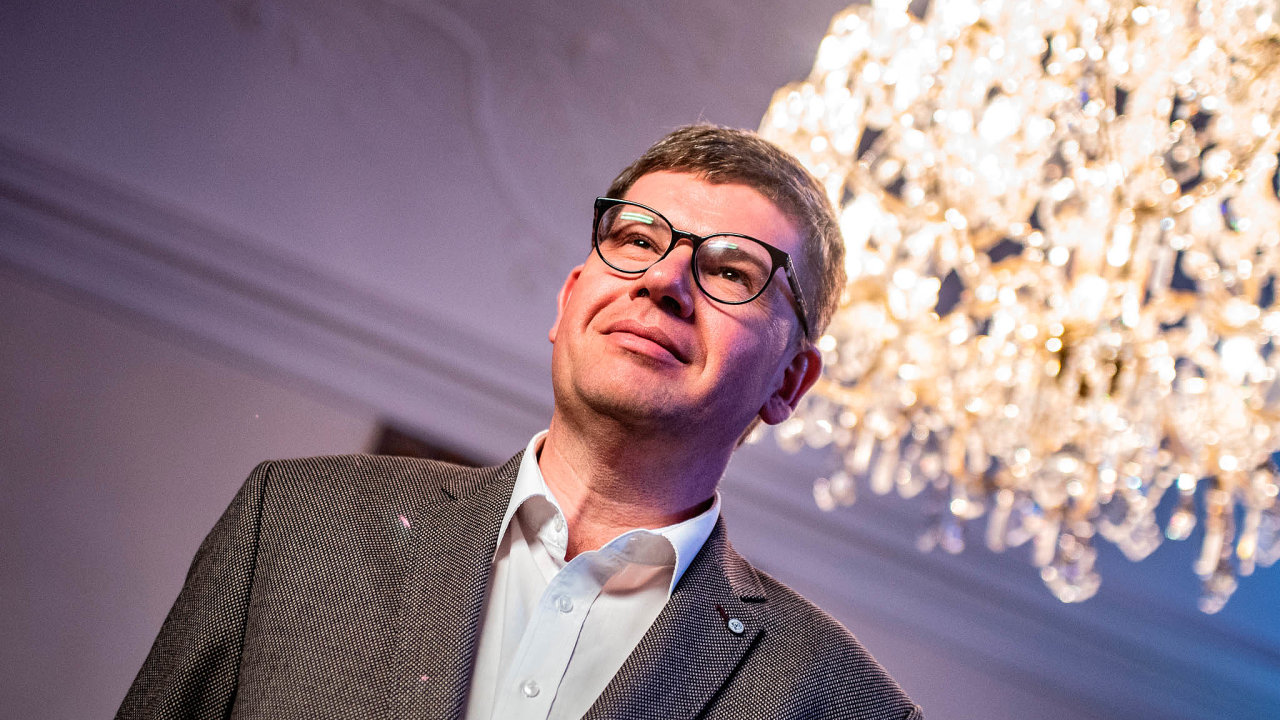 Lídr koaličního uskupení Spojené síly pro Prahu (TOP 09 aSTAN) Jiří Pospíšil.