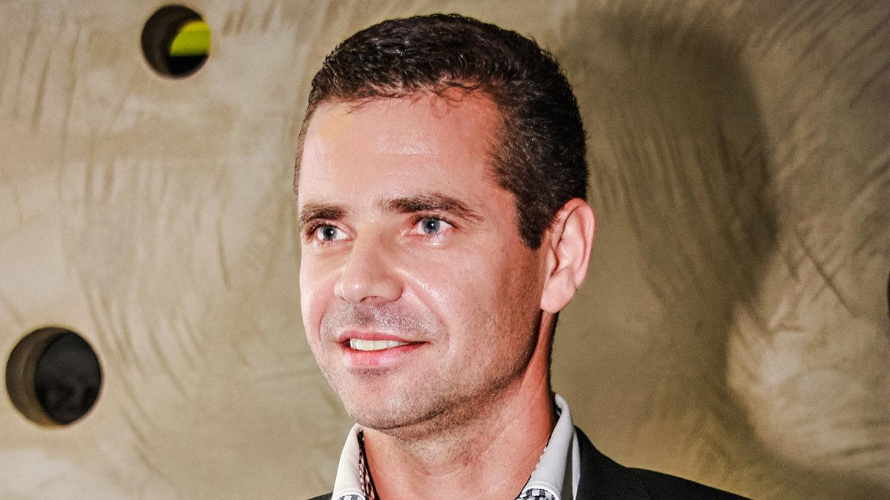 Rastislav Velič, partner finanční skupiny Arca Capital
