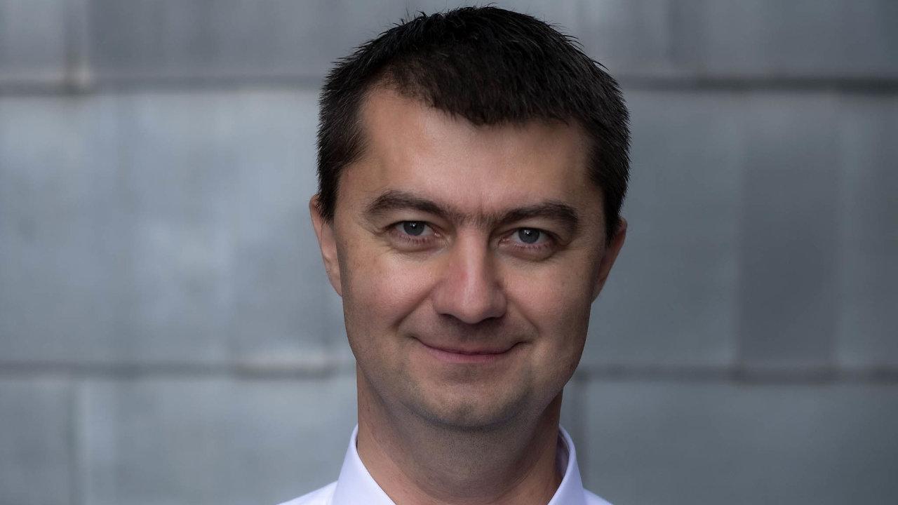MartinPodávka,spoluzakladatel ačlen představenstvaPillow pojišťovny