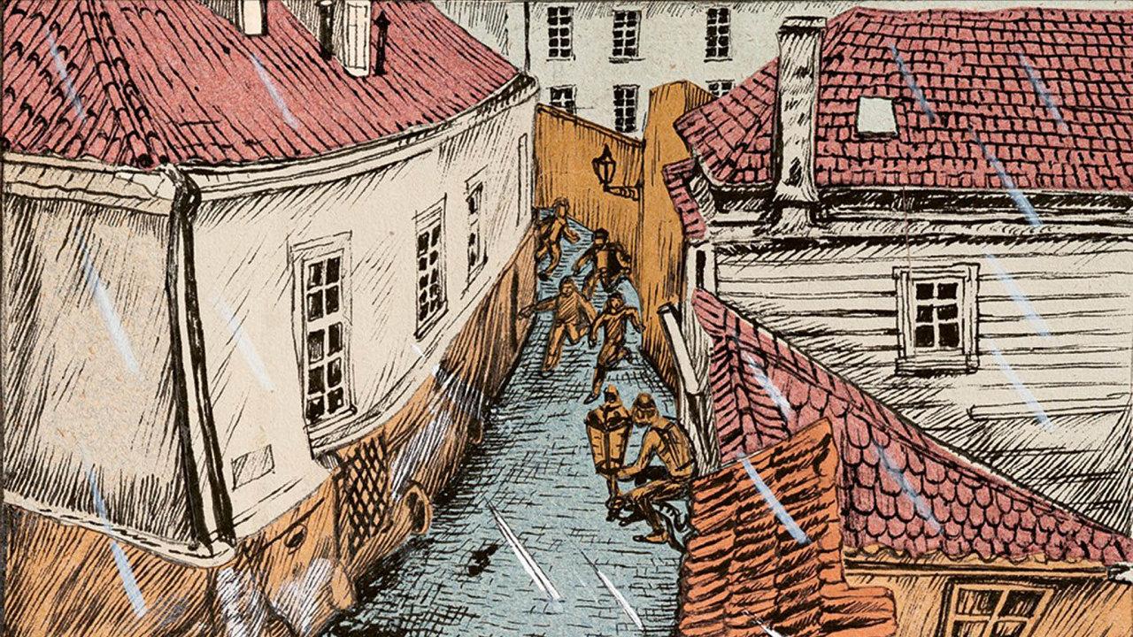Hrdinové komiksu Rváčov se po vzoru Rychlých šípů pouštějí na výpravy městem. V Praze 80. let však číhají nebezpečí, o kterých Foglar nepsal.