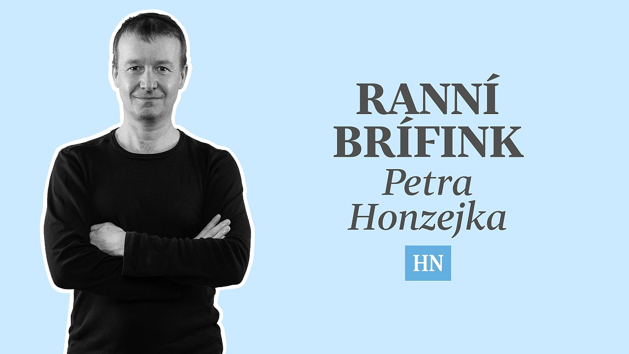 Podcast Ranní brífink Petra Honzejka
