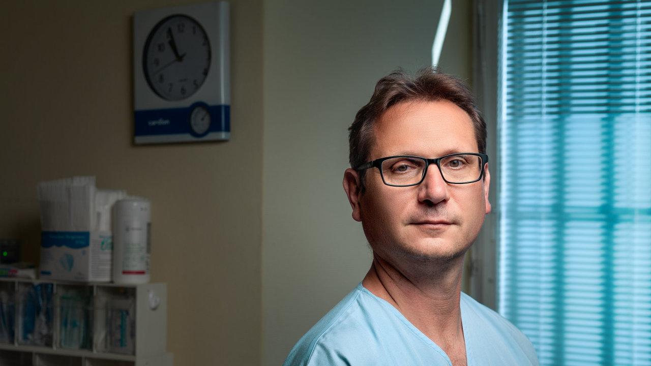 David Zemánek, lékař, kardiologie, VFN, Praha