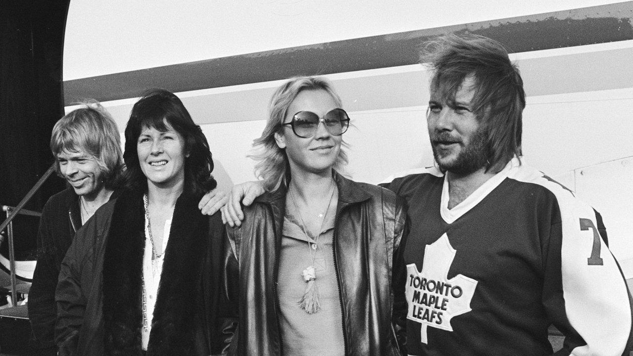 ABBA v Rotterdamu v roce 1979