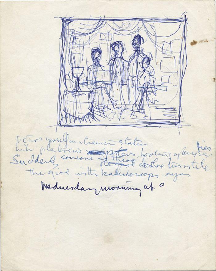 Lennon v rukopis