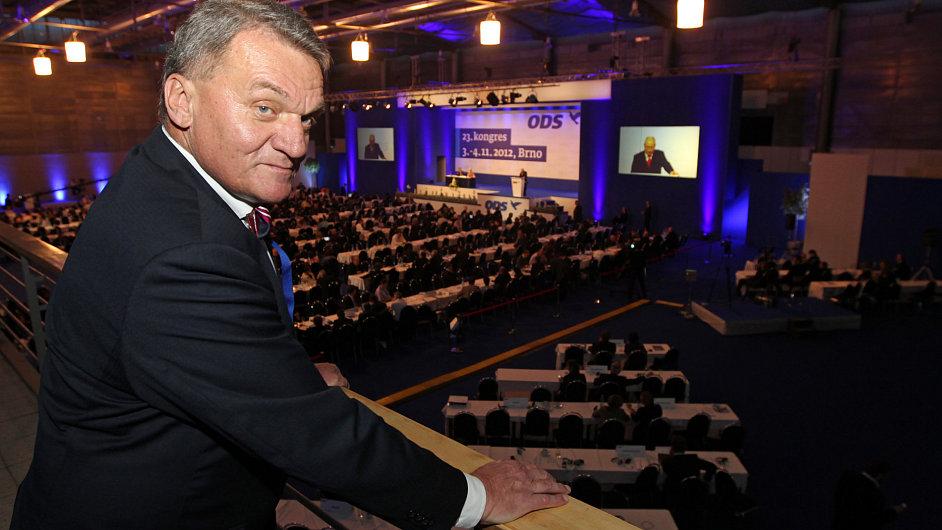 Pražský primátor Bohuslav Svoboda