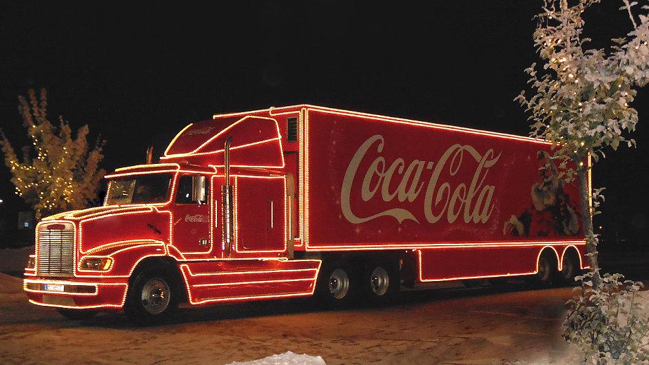 Coca-Cola vánoční kamion