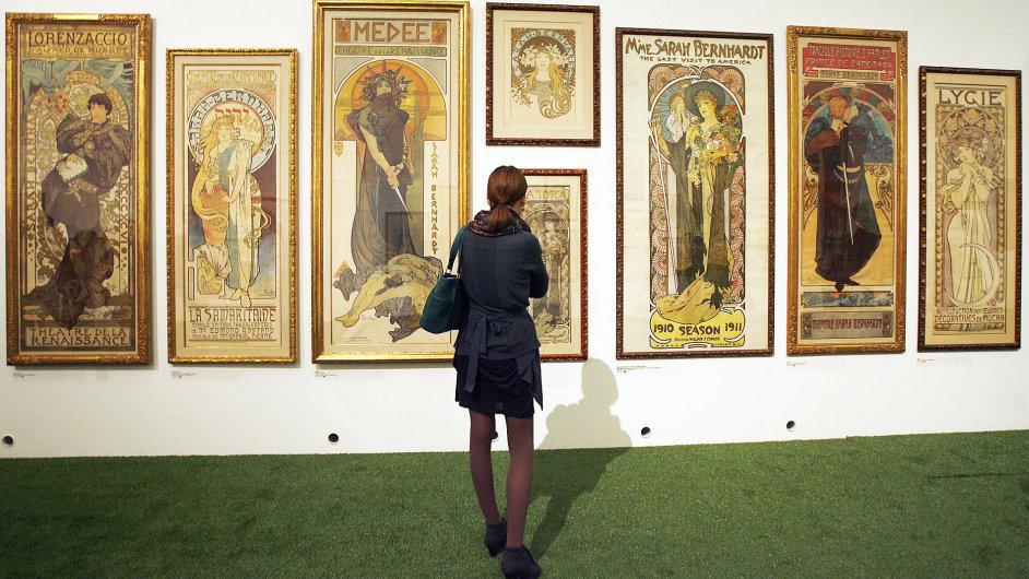Lendlova sbírka plakátů A. Muchy