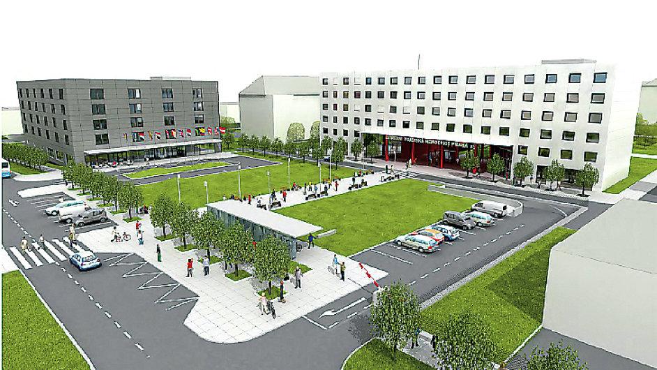 Ústřední vojenská nemocnice, projekt, hotel