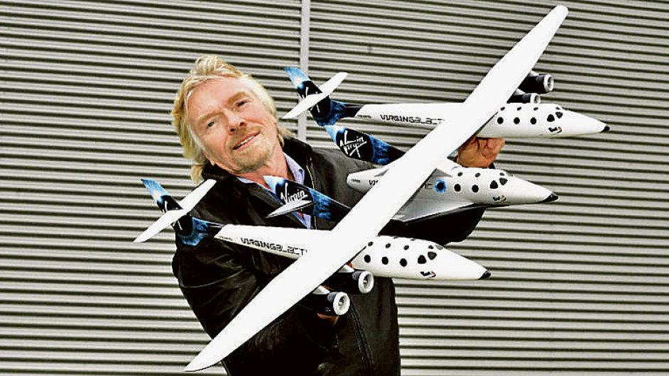 Zakladatel Virgin Group Richard Branson