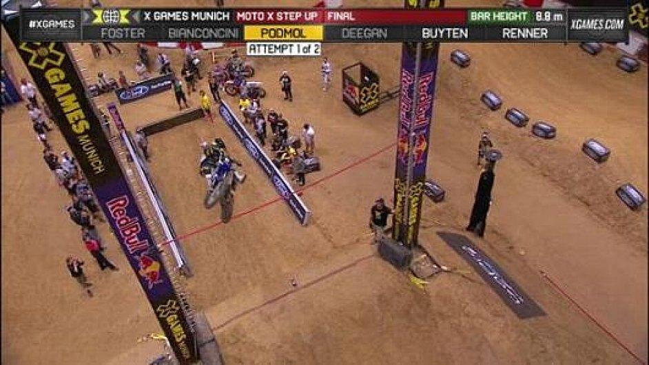 Podmolův skok na X Games.
