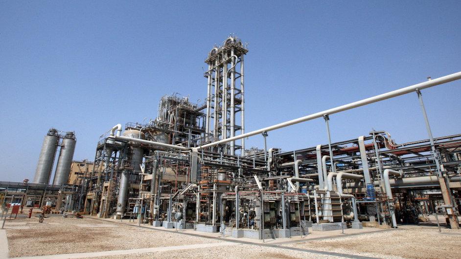 Přeprava a zpracování ropy (Ilustrační foto)