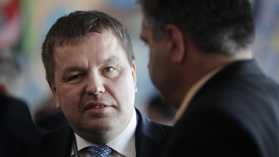 Exposlanec ODS Petr Tluchoř.