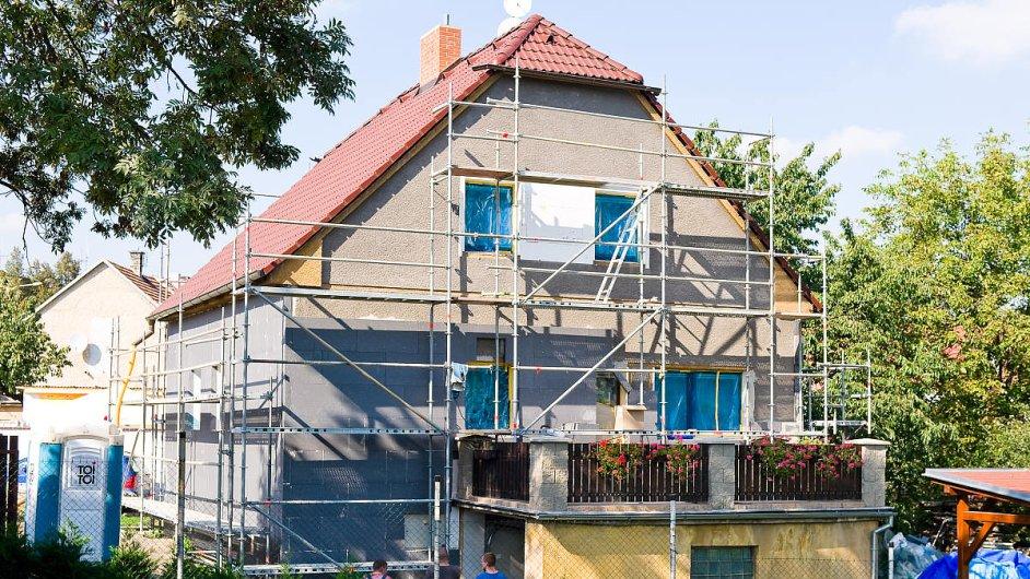 Zateplování budov polystyrenovými deskami