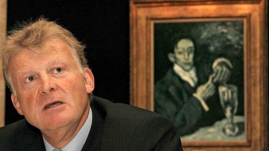 Odcházející šéf Katarského muzejního úřadu Edward Dolman