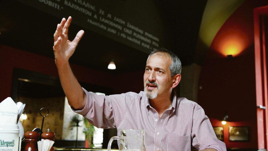Generální ředitel Plzeňského Prazdroje Paolo Lanzarotti říká, že Češi chtějí stále více nová piva.