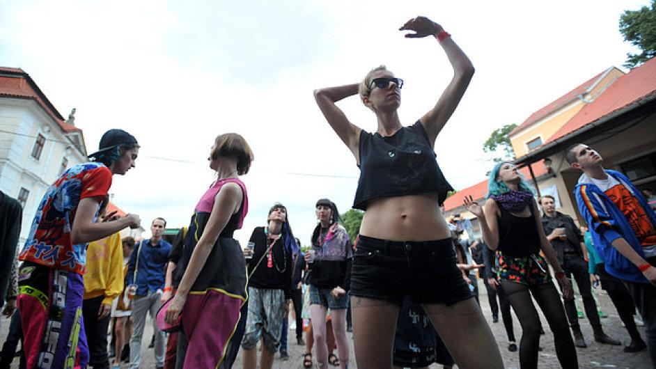 Festival Creepy Teepee se koná vždy v polovině července.
