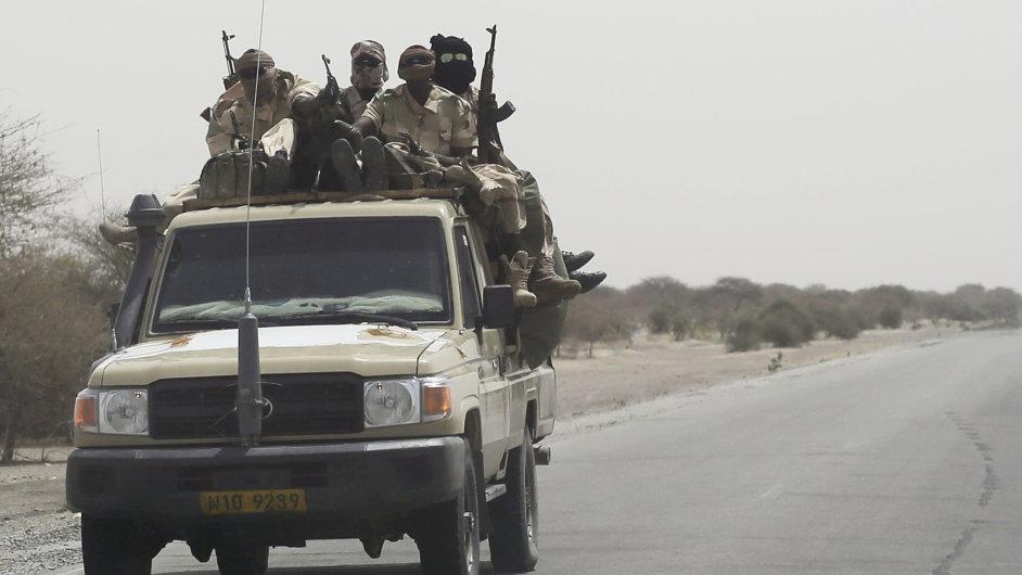 Čadské jednotky vyrazily proti Boko Haram.