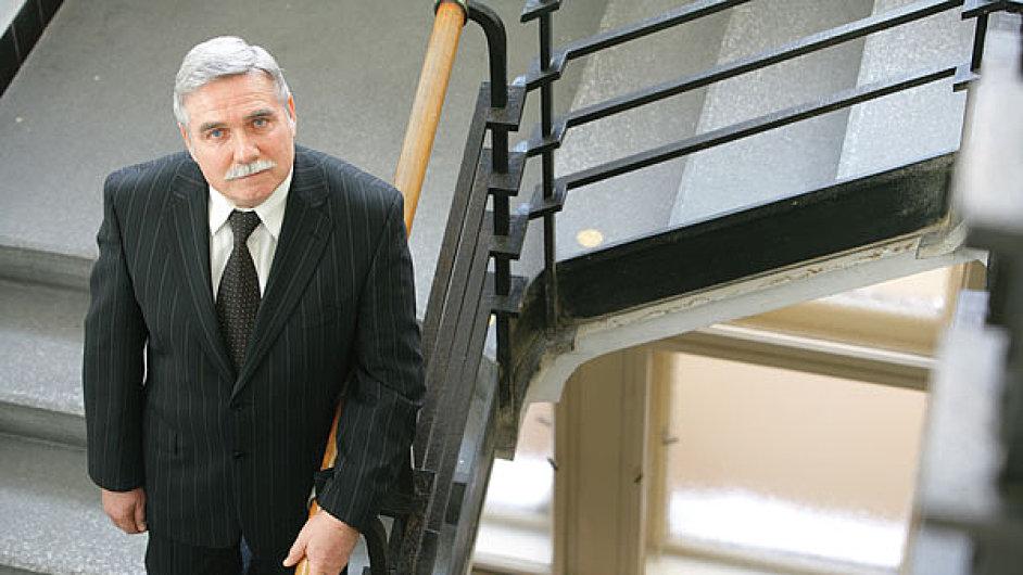 Bývalý šéf Státní správy hmotných rezerv Ladislav Zabo