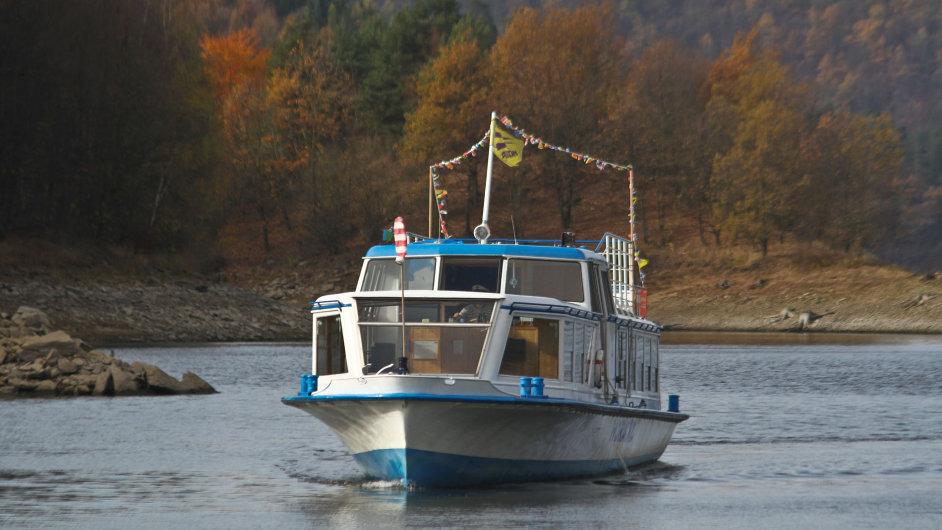 Výletní loď Horácko vyplouvá v listopadu a prosinci pouze o víkendech.