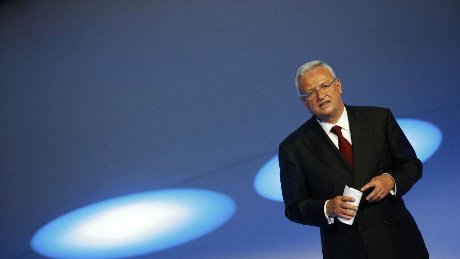 Martin Winterkorn, šéf Volkswagenu