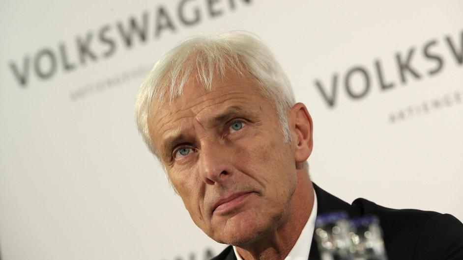Matthiase Müllera zvolila do čela Volkswagenu během pátečního jednání dozorčí rada společnosti.