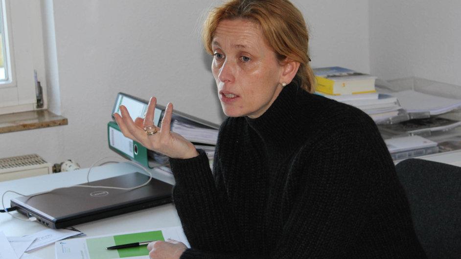 Karin Prienová, místopředsedkyně parlamentní frakce CDU vHamburku.