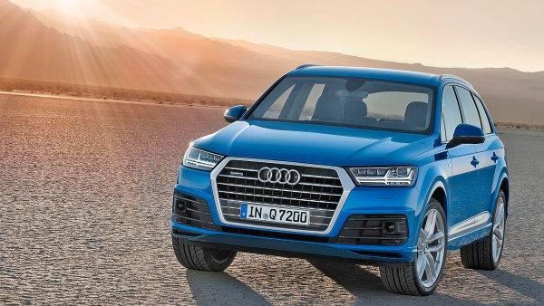 Audi v lednu p�ekonalo konkuren�n� BMW.