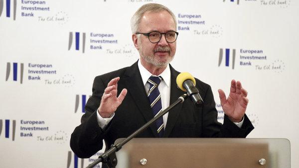 Prezident Evropské investiční banky Werner Hoye.