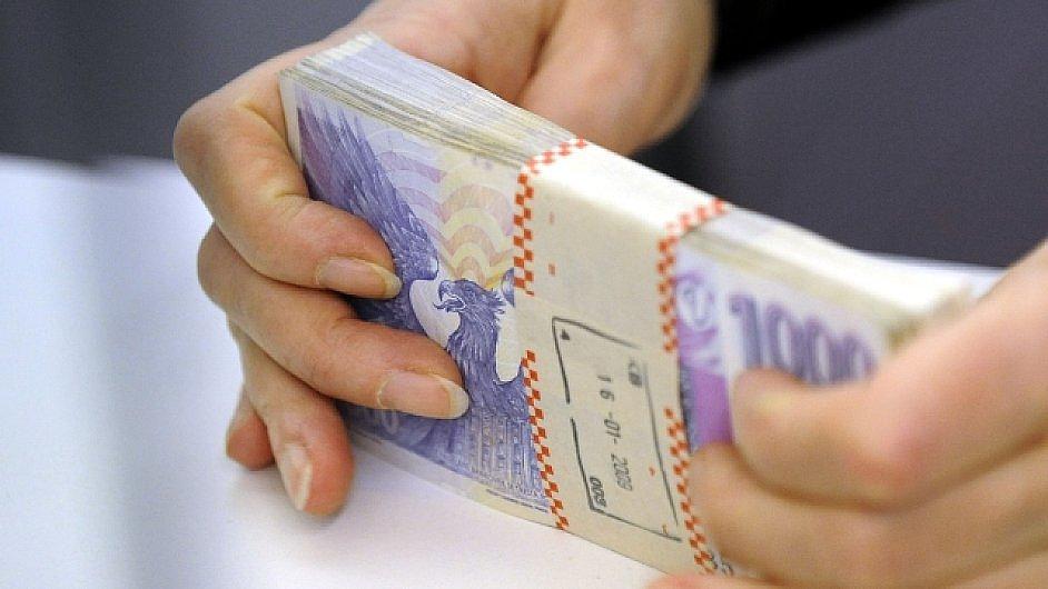 koruna bankovky státní rozpočet