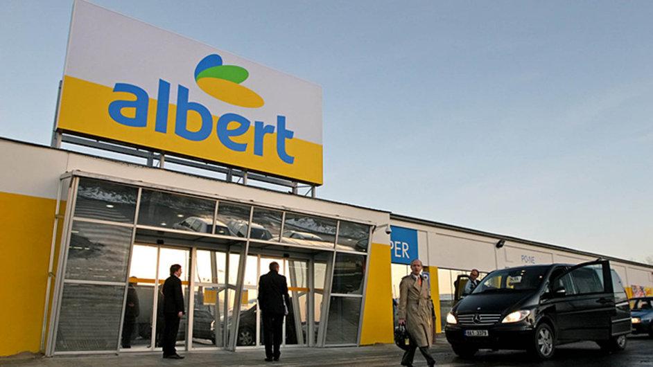 Prodejna Albert ve Vestci.