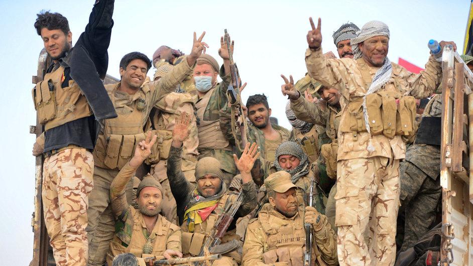 Irácká armáda vstoupila do Mosulu.
