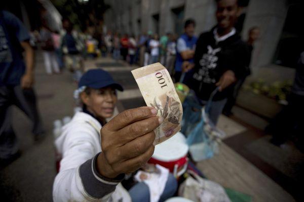 Venezuela, bolívar