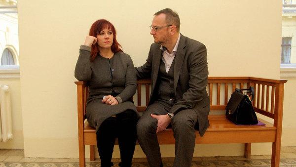 Jana Nečasová s tehdejším premiérem Petrem Nečasem